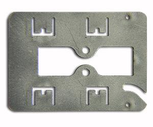 custom work on a piece of metal